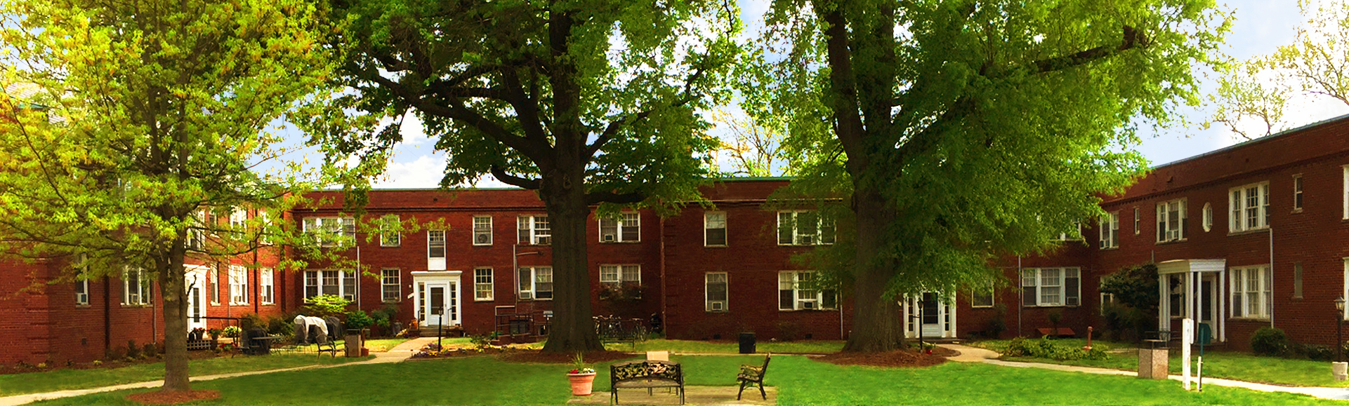 Gunston Hall Courtyard